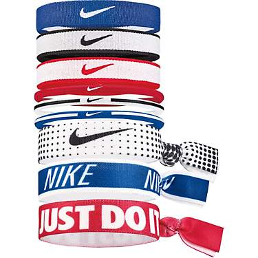Nike Women's Mixed Ponytail Holders 9-Pack
