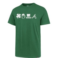 Atlanta Braves St. Patrick's Day Shamrock, Beer, Hat Super Rival T-shirt