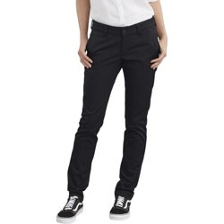 Women's Straight Fit Stretch Twill Plus Size Pants