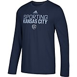 adidas Men's Sporting Kansas City Go To Performance Locker Room T-shirt