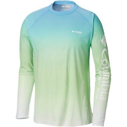 75036842 ... Columbia Sportswear Men's PFG Terminal Deflector Printed Long Sleeve T- shirt. Men's Shirts. Hover/Click to enlarge
