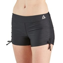 Women's Swim Sport Ruched Boyleg Swim Shorts