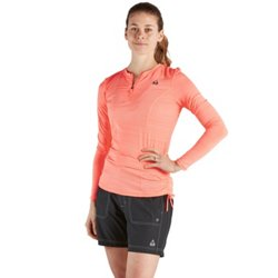 Women's Ruched Sun Protection Rash Guard Swim Top