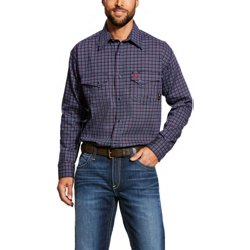 Men's FR Plainview Snap Work Shirt