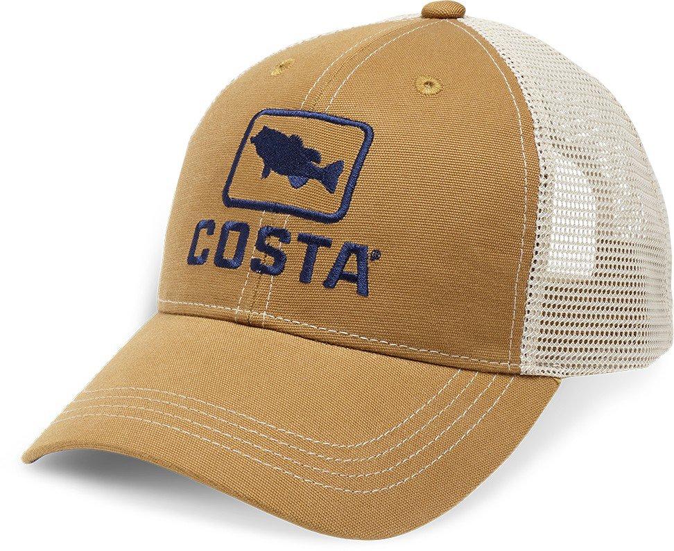 4909fc7bc4 Costa Del Mar Adults  Bass XL Trucker Hat