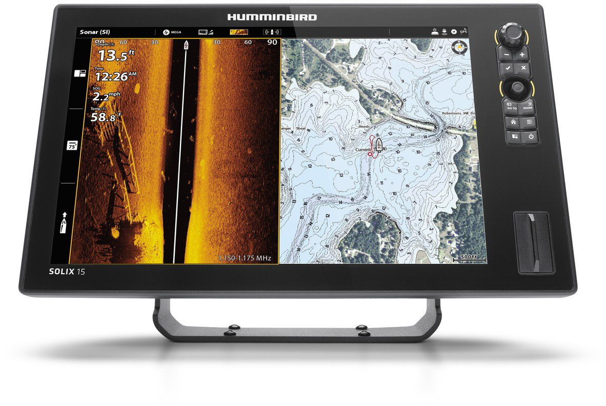 Humminbird Solix 12 CHIRP MEGA SI+ G2 GPS Fish Finder