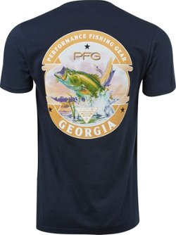 Men's PFG Georgia Smyrna Graphic T-shirt