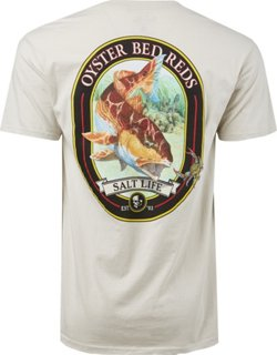 Men's Oyster Bed Reds Pocket T-shirt