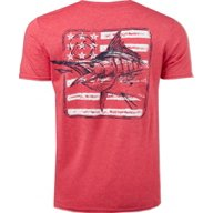 Magellan Outdoors Men's Squared Up Flag T-shirt