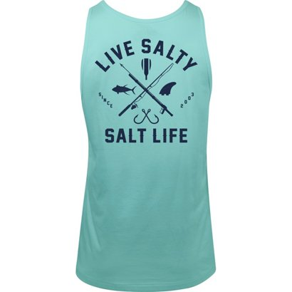 c064bb14c4cc6 ... Salt Life Men s Modern Waterman Tank Top. Men s Shirts. Hover Click to  enlarge