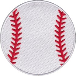Baseball Seams Bag Patch