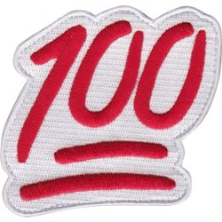 Keep It 100 Bag Patch