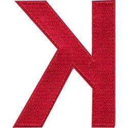 Backwards K Bag Patch