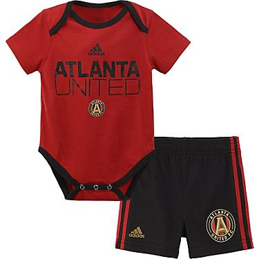 promo code b64d7 9b6ed adidas Infant Boys' Atlanta United FC Creeper Onesie and Shorts Set