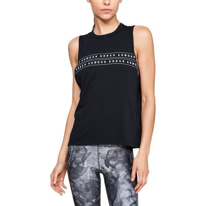 1d008a27 ... Under Armour Women's Graphic Muscle Tank Top. Women's Shirts & Tops.  Hover/Click to enlarge
