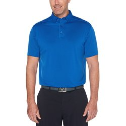 Men's Solid Short Sleeve Golf Polo