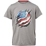 BCG Boys' USA RIP Baseball T-shirt