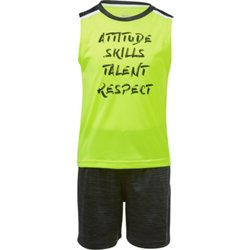 Toddler Boys' Attitude Skills Talent Respect Tank Top and Shorts Set