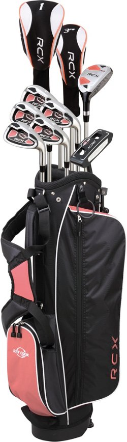 Women's Silver Ray RCX Packaged Golf Club Set