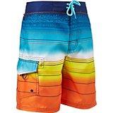 e14d66f5c8 O'Rageous Boys' Malibu Sunset Stripe True Boardshorts