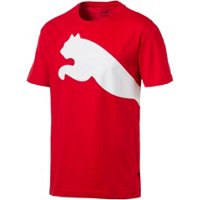 Deals on PUMA Mens Oversize Logo T-shirt