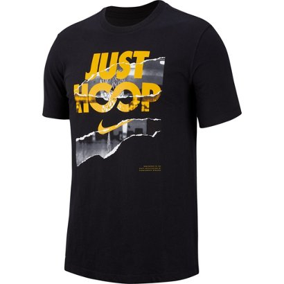 11828ab8 ... Nike Men's Dri-FIT Just Hoops Basketball T-shirt. Men's Shirts.  Hover/Click to enlarge