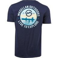 Magellan Outdoors Men's Fishing Scene T-shirt