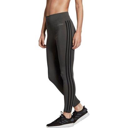 e7d7fcf447c adidas Women s Design 2 Move 3-Stripes High Rise Long Tights