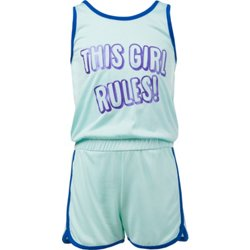 Girls' This Girl Rules Romper