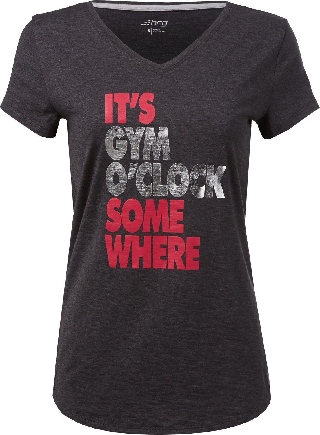 70a4d0d4fe34f6 Display product reviews for BCG Women's Athletic It's Gym O'clock Somewhere  ...