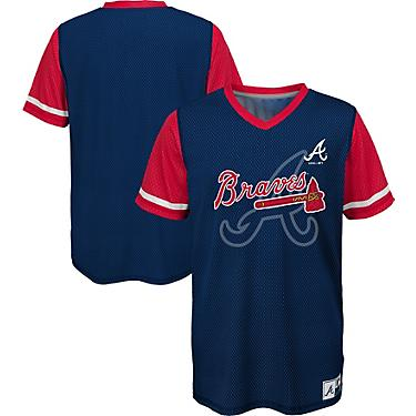 brand new 387b0 39753 Majestic Toddler Boys' Atlanta Braves Play Hard Jersey T-shirt