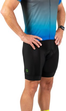 Men's Ultima Gel Padded Cycling Shorts 8 in