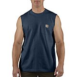 Carhartt Men's Workwear Pocket Sleeveless T-shirt
