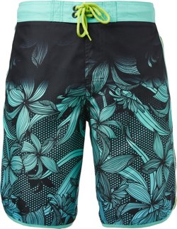 Men's Digital Jungle Scalloped Board Shorts