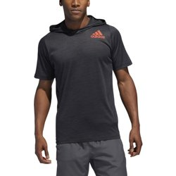 adidas FreeLift All-American Short Sleeve Hoodie T-shirt