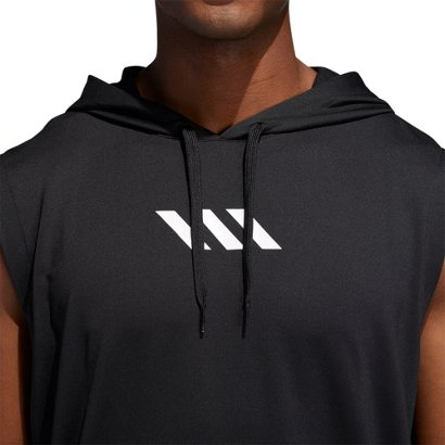 e769d87e adidas Men's Pro Madness Sleeveless Basketball Hoodie | Academy