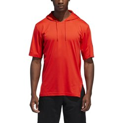 adidas Men's SPT Short Sleeve Basketball Hoodie