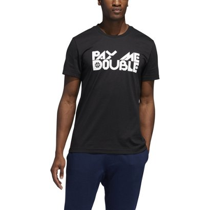d48b9450939 ... adidas Men s Pay Me Double Basketball Graphic T-shirt. Men s Shirts.  Hover Click to enlarge