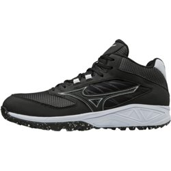 Men's Dominant All-Surface Turf Mid Baseball Shoes