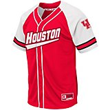 Colosseum Athletics Men's University of Houston Wallis Baseball Jersey
