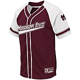 Colosseum Athletics Men's Mississippi State University Wallis Baseball Jersey