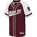 Colosseum Athletics Boys' Mississippi State University Wallis Baseball Jersey