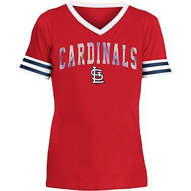 check out b736c 6269d New Era Girls' St. Louis Cardinals Baby Jersey Short Sleeve Shirt