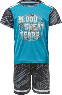 Toddler Boys' Blood Sweat Tears 2-Piece T-shirt and Shorts Set