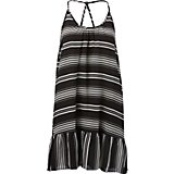 12940f6cc16a7 Women's Swim Striped Ruffle Cover-Up Dress