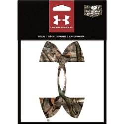 Mossy Oak Camo 6 in UA Logo Decal