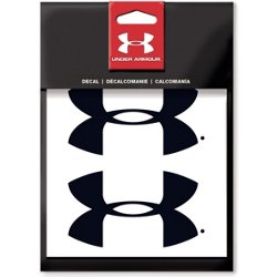 4 in UA Logo Decal 2-Pack