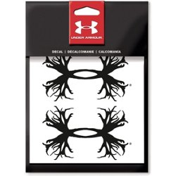 4 in Antler UA Logo Decal 2-Pack