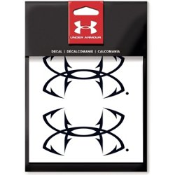 4 in Fishhook UA Logo Decal 2-Pack