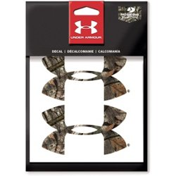 4 in Mossy Oak Camo UA Logo Decals 2-Pack